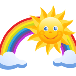 Rainbow and Sunshine