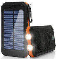 Solar Power Bank Portable External Backup