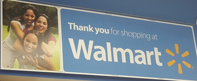 Thank you for shopping Walmart