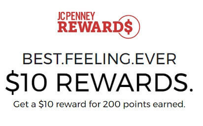 JCPenney Reward Points