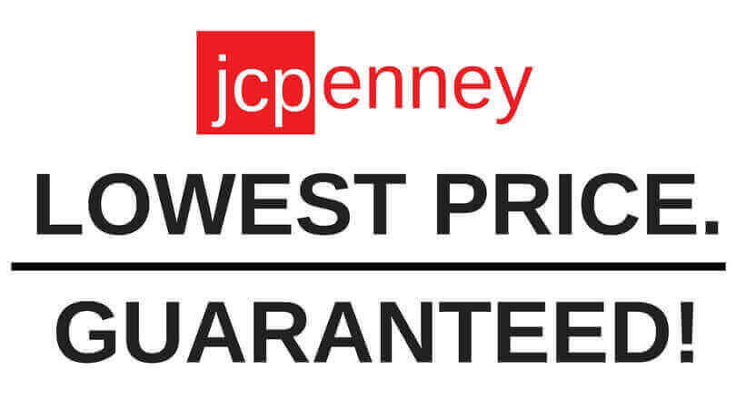 JCpenney lowest price guaranteed