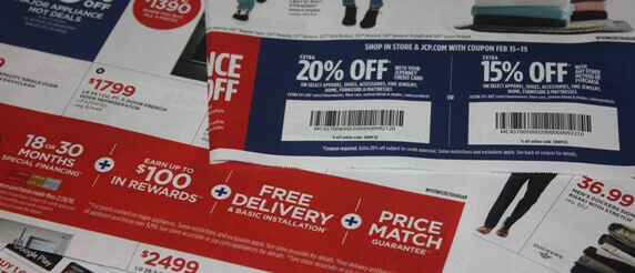 jcpenney coupons store